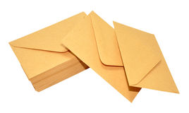 Brown Envelopes Stock Images