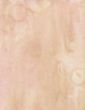 Brown et fond sale mou rose de couleur d'eau Images stock