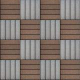 Brown et Gray Rectangles Paved Texture sans joint Photographie stock libre de droits