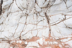 Brown et marbre blanc Photo libre de droits