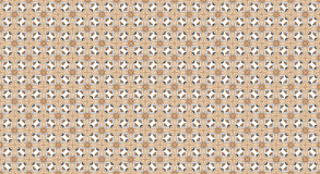 Brown ethnic pattern background stock illustration