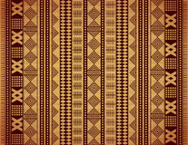 Brown ethnic texture Stock Image