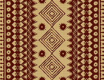 Brown ethnic texture Royalty Free Stock Image