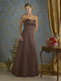 Brown Evening Gown Royalty Free Stock Photo