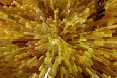 Brown explosion Royalty Free Stock Images