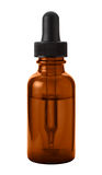 Brown Eye Dropper Bottle Royalty Free Stock Image