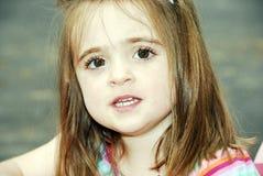 Brown Eyed a beleza Fotos de Stock Royalty Free