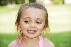 Brown Eyed belleza Foto de archivo libre de regalías
