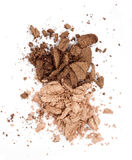 Brown eyeshadow Royalty Free Stock Image