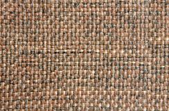 Brown fabric. For backgrounds or textures Stock Image