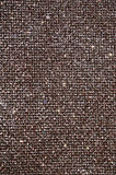 Brown fabric. Texture of sparkle brown fabric royalty free stock images