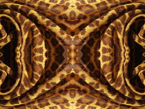 Brown fabric abstract Royalty Free Stock Image
