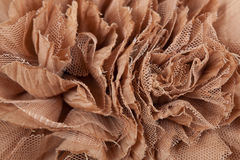 Brown fabric background Stock Photos