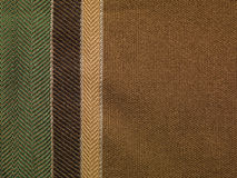 Brown fabric background Stock Images