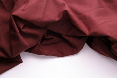 Brown fabric background Stock Image