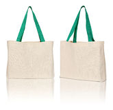 Brown fabric bag Royalty Free Stock Photos