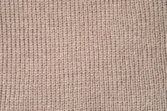 Brown fabric close-up texture background Royalty Free Stock Photography