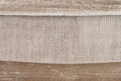 Brown fabric Royalty Free Stock Images