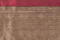 Brown fabric Royalty Free Stock Photos
