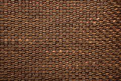 Brown fabric and leather texture background Royalty Free Stock Images