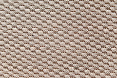 Brown fabric in macro style. Stock Image