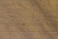 Brown fabric net background Royalty Free Stock Photos