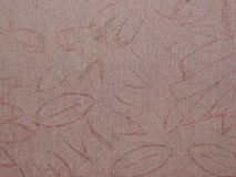 Brown fabric pattern Stock Photography