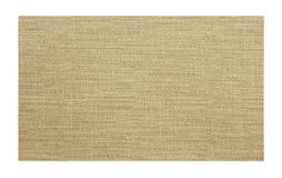 Brown fabric sample isolated Stock Image