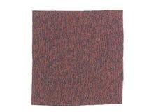 Brown fabric sample Stock Image