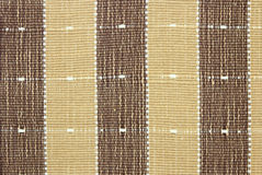 Brown fabric striped texture Royalty Free Stock Image