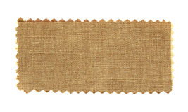 Brown fabric swatch samples Royalty Free Stock Photo