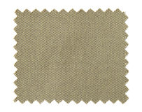 Brown fabric swatch samples isolated on white. Background royalty free stock image