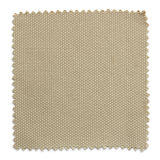 Brown fabric swatch samples isolated on white Stock Photos