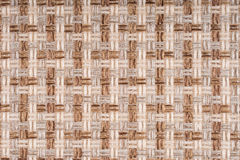 Brown fabric texture for background Royalty Free Stock Image