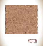 Brown fabric texture for background. Royalty Free Stock Photography