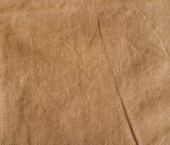 Brown fabric texture. Burlap. Royalty Free Stock Photos