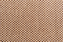 Brown fabric texture Royalty Free Stock Image