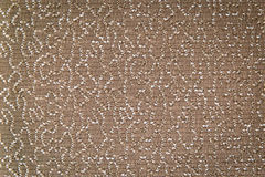 Brown fabric wallpaper Stock Photo