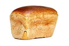 Brown fabricou cerveja o pão sob a forma do tijolo foto de stock