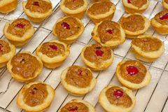 Brown fait maison Sugar Pasty Cups Photos stock