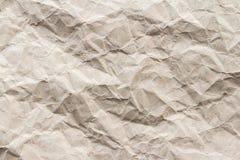 Brown-Falte bereiten Papierhintergrund auf lizenzfreies stockfoto
