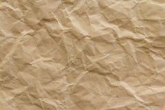 Brown-Falte bereiten Papierhintergrund auf stockbilder
