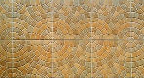 Brown-Farbefliesenboden Lizenzfreies Stockbild