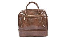 Brown fashion bag Royalty Free Stock Images