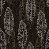 Brown feather pattern Royalty Free Stock Image