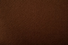 Brown felt texture. For background Stock Photo