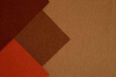 Brown felt texture background Royalty Free Stock Photos