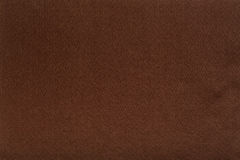 Brown felt tissue cloth, closeup texture background stock photo