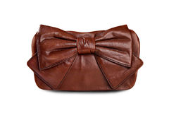 Brown female bag-1 Royalty Free Stock Image