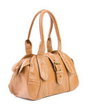 Brown female bag | Isolated Stock Images